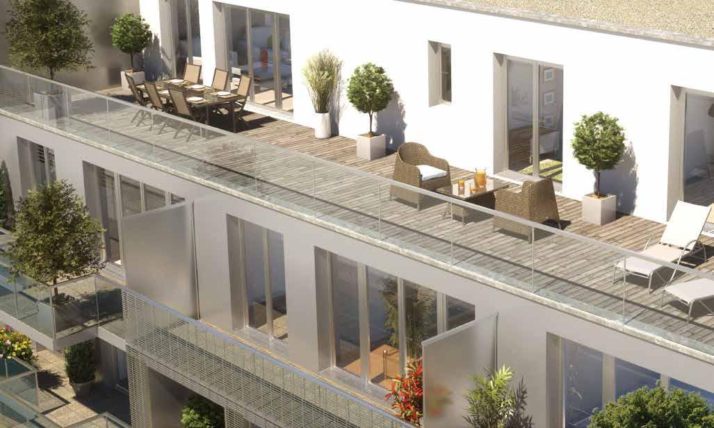 t3 82m2 avec terrasse sur le toit rennes 35 vente 9. Black Bedroom Furniture Sets. Home Design Ideas