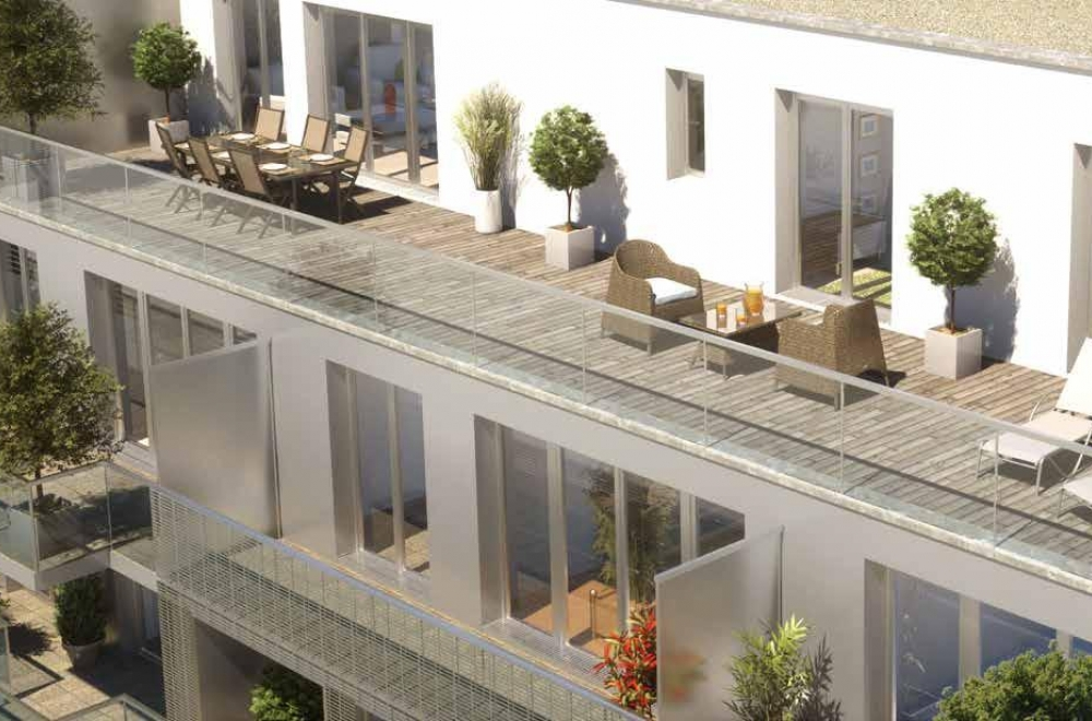 Appartement Terrasse Rennes