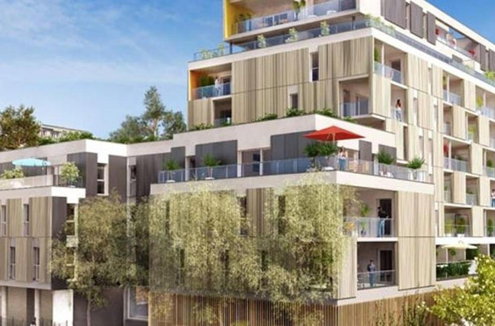 Grenoble façade côté cour