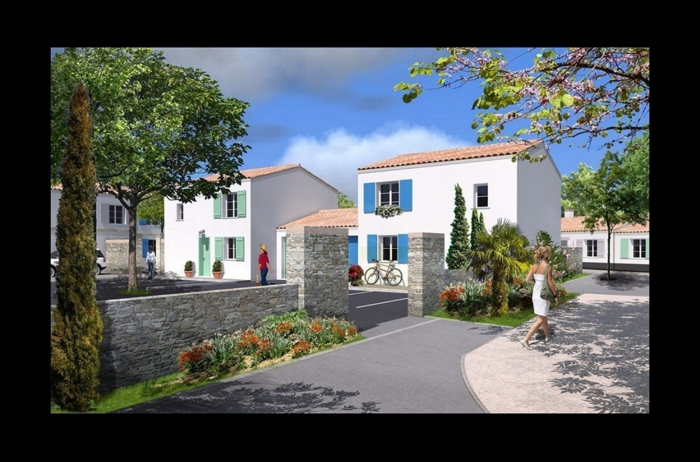 Résidence de villas à Oléron
