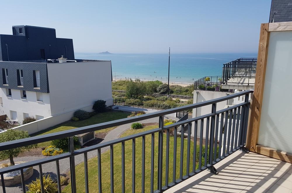 Résidence à Fréhel balcon vue mer