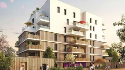 Résidence moderne à Ambilly façade rue