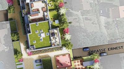 Plan de la résidence à Ambilly
