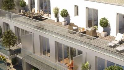 Résidence à Rennes balcons et terrasse côté sud