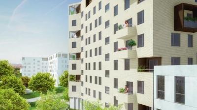 Résidence à Toulouse façade coté jardin