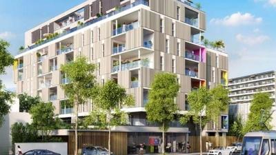Grenoble façade côté rue
