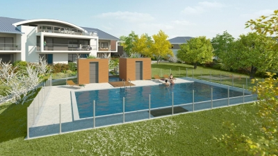 Résidence de standing avec piscine à Messery