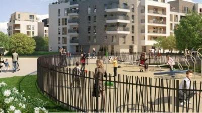 Nouvel eco-quartier à Créteil