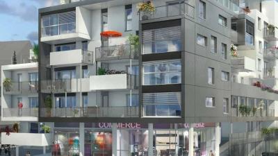 Résidence à Bruz façade côté rue
